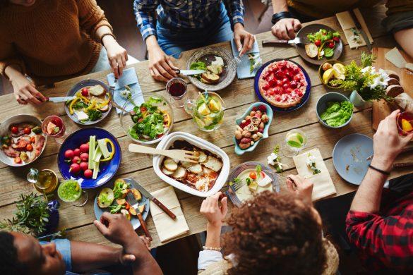 Není nad oběd s přáteli
