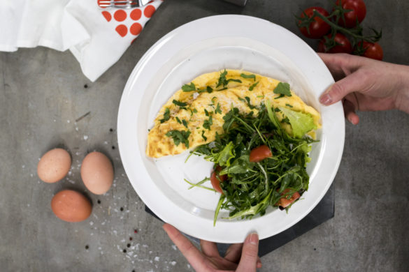 Vaječená omeleta
