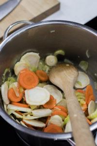 Zelenina k osmahnutí