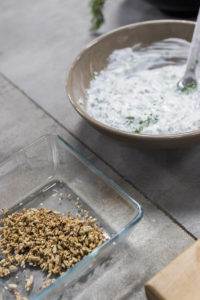 Brambora pečená v soli - příprava